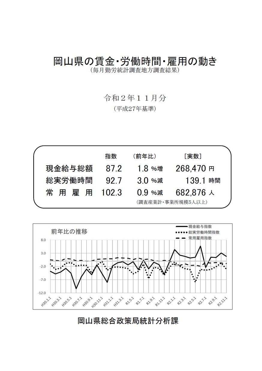 勤労 統計 調査 毎月